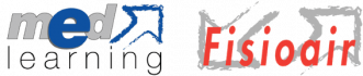 Logo Fisioair e Medlearning Educazione Continua in Medicina